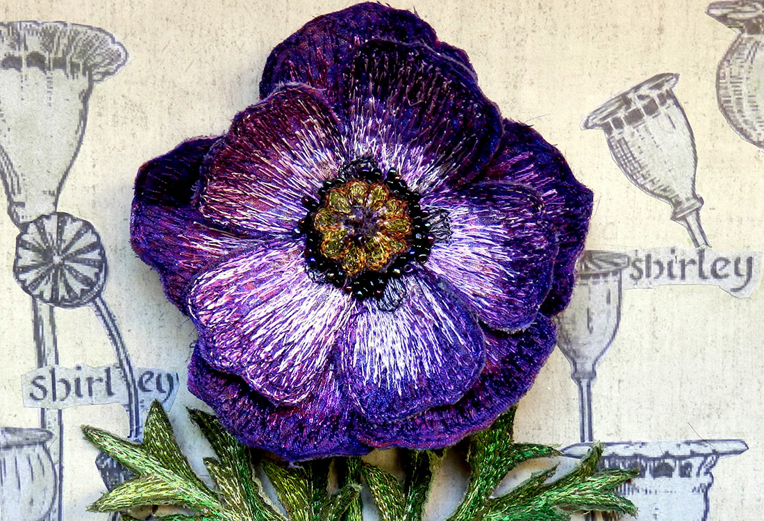 Purple Poppy by Corinne Young